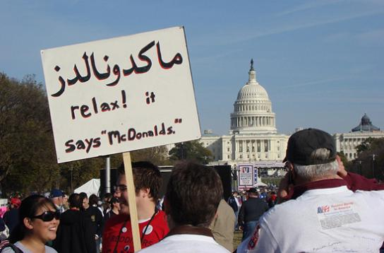 relax-it-says-mcdonalds-protest-sign